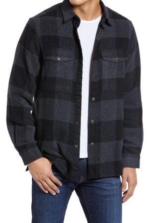Fjällräven Men's Canada Buffalo Check Button-Up Shirt