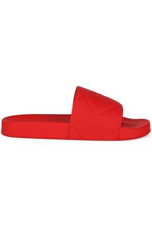Bottega Veneta Men's The Slider Rubber Slides - - Size 40 (7) Sandals