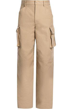 Bottega Veneta Men's Cotton Canvas Cargo Pants - - Size 50 (34)