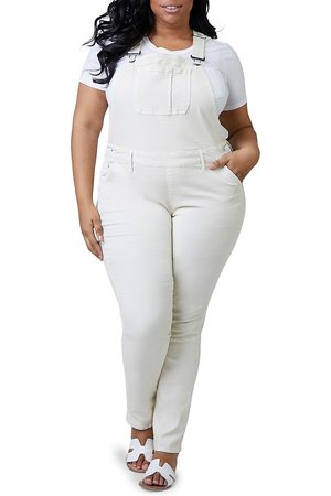 Slink Jeans Plus Women's Denim Overalls - - Size 12W