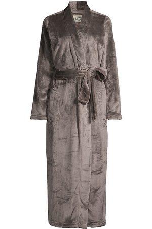 UGG Women's Marlow Double Face Fleece Robe - Charcoal - Size XL