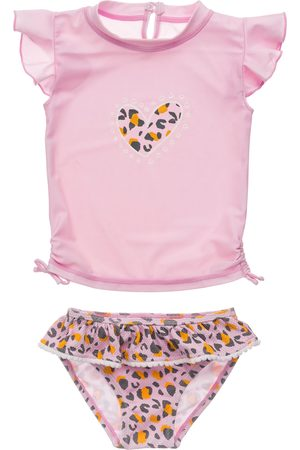 Snapper Rock Infant Girl's Leopard Love Ruffle Two-Piece Swimsuit