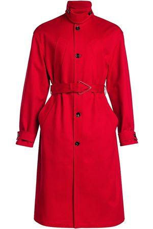 Bottega Veneta Men's Heavy Cotton Twill Belted Trench Coat - - Size 52 (42)