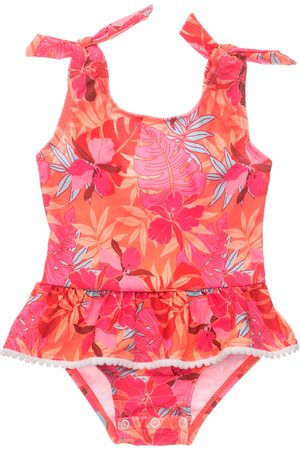 Snapper Rock Infant Girl's Tropical Punch Skirt Swimsuit