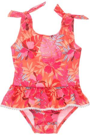 Snapper Rock Infant Girl's Tropical Punch Skirt Swimsuit