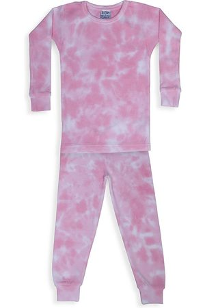 Baby Steps Baby's, Little Girl's & Girl's Leah 2-Piece Tie-Dye Thermal Pajama Set - - Size 3