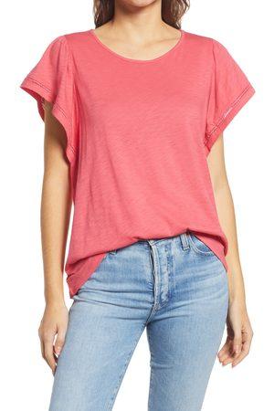GIBSONLOOK Women's Flutter Sleeve Top