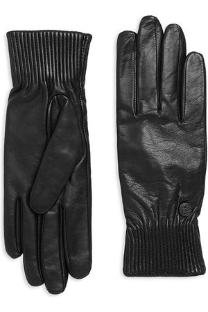 Canada Goose Women's Ribbed Leather Gloves - - Size XS