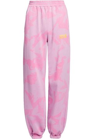 VERSACE Women's Tie-Dye Sweatpants - - Size Large