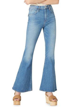 Hudson Women High Waisted - Women's Jeans Holly High-Rise Flare Flap - Dream Lover - Size Denim: 27