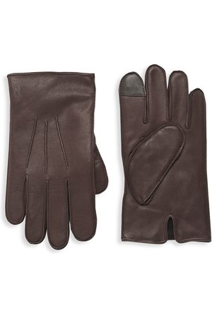 Polo Ralph Lauren Men's Water Repellent Nappa Leather Gloves - - Size Large