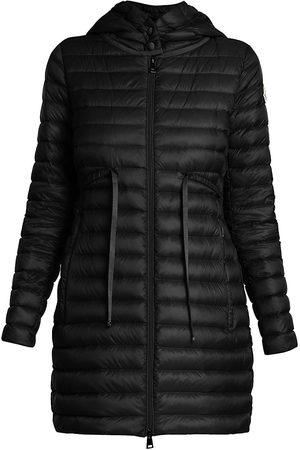 Moncler Women's Barbel Drawstring Puffer Jacket - - Size 2 (Medium)