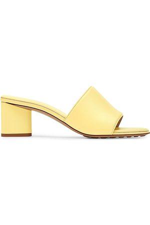 Bottega Veneta Women's The Bulb Block Heel Sandals - - Size 39.5 (9.5)