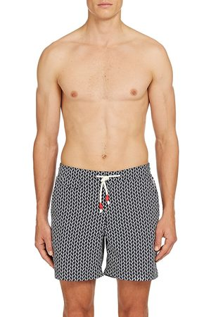 Orlebar Brown Men's Standard Catalina Print Swim Trunks - - Size 32