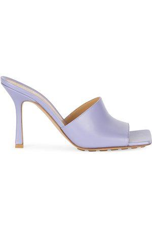 Bottega Veneta Women's Stretch Leather Mules - - Size 41 (11)