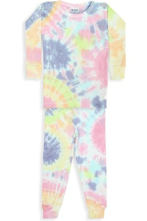 Baby Steps Baby's, Little Girl's & Girl's Izzy 2-Piece Tie-Dye Thermal Pajama Set - - Size 18 Months