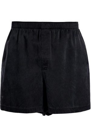 Bottega Veneta Men's Heavy Fluid Silk Twill Shorts - - Size XL