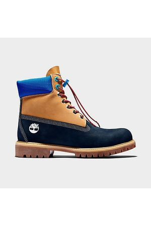 Timberland Men Boots - Men's Retro 6 Inch Premium Waterproof Boots in / Size 8.5 Leather/Nylon