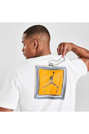 Nike Jordan Men's Keychain T-Shirt in Size Small Cotton