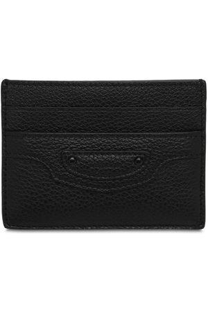 Balenciaga Men Wallets - Neo Classic City Leather Card Holder