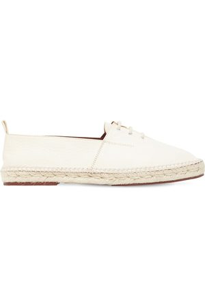 Loro Piana 10mm Cadaques Leather Espadrilles