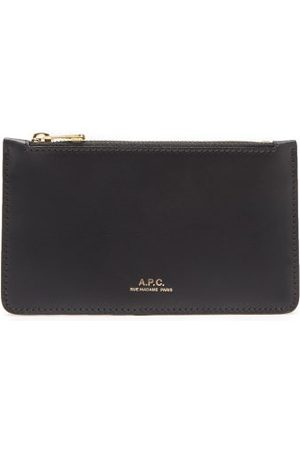A.P.C. Women Purses - Willow Leather Cardholder - Womens