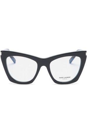 Saint Laurent Kate Cat-eye Acetate Glasses - Womens