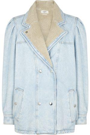 Isabel Marant Lucinda double-breasted denim jacket