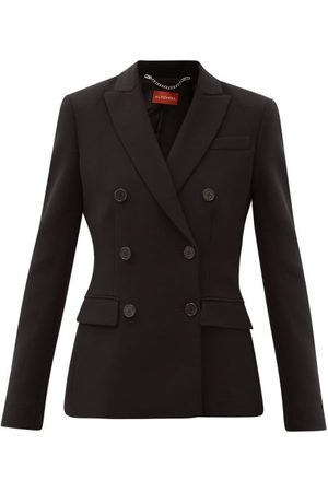 Altuzarra Indiana Double-breasted Crepe Suit Jacket - Womens