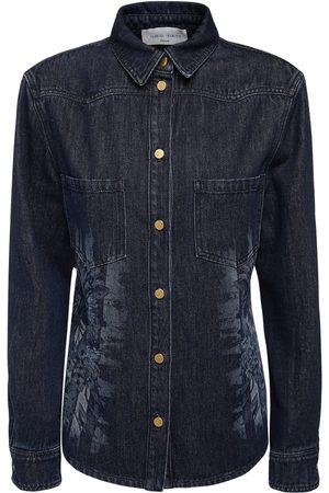 Alberta Ferretti Cotton Denim Shirt