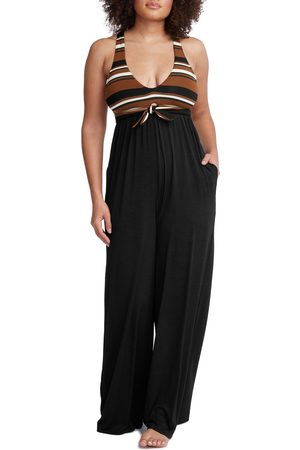 Robin Piccone Women Jumpsuits - Women's Simone Sleeveless Wide Leg Jumpsuit