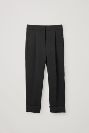 COS STRAIGHT WOVEN PANTS