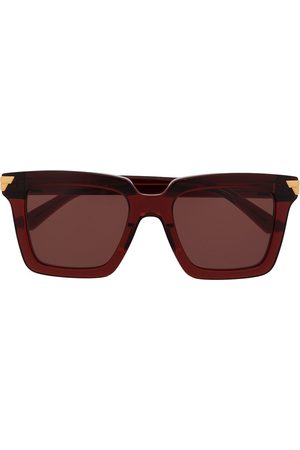 Bottega Veneta Square-frame oversized sunglasses