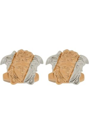 VERSACE Medusa two-tone cufflinks