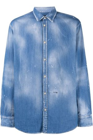 Dsquared2 Distressed-effect denim shirt