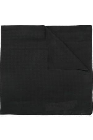 Tory Burch Tonal logo oblong scarf