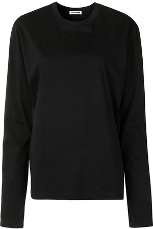 Jil Sander Round-neck long-sleeve top