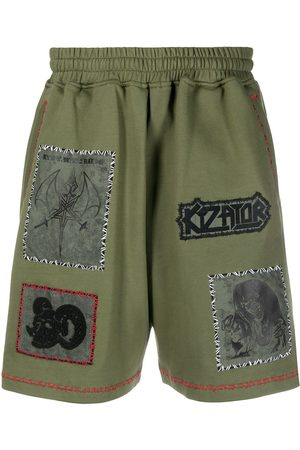KTZ Patch-detailed track shorts