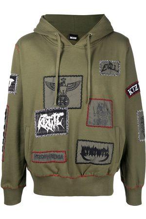 KTZ Patch-detailed drawstring hoodie