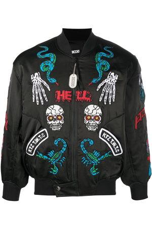 KTZ Patch-detailed bomber jacket