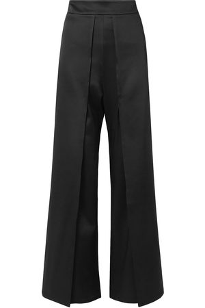 SID NEIGUM Woman Satin Flared Pants Size 2
