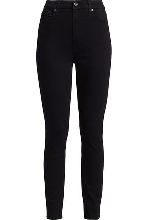 7 for all Mankind Women's Aubrey High-Rise Skinny Jeans - - Size 34 (16)