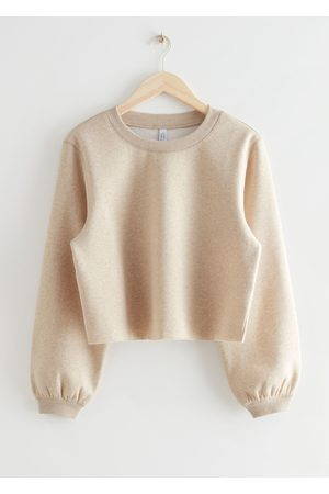 & OTHER STORIES Boxy Jersey Sweater