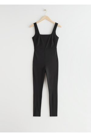 & OTHER STORIES Quick-Dry Sleeveless Yoga Bodysuit
