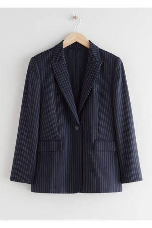 & OTHER STORIES Single Button Blazer Jacket