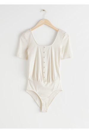 & OTHER STORIES Women Bodies - Scoop Neck Bodysuit