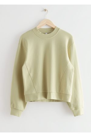 & OTHER STORIES Relaxed Banana Sleeve Sweater