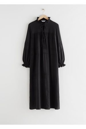 & OTHER STORIES Oversized Ruffled Maxi Kaftan