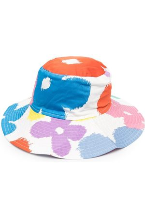 Stella McCartney Floral-print sun hat