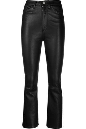 SPRWMN Women Skinny Pants - Sim-fit cropped trousers